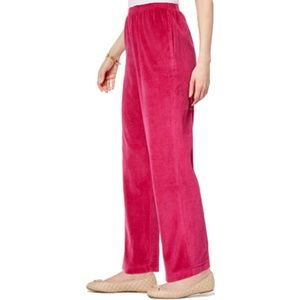🍒 Royal 🍒 Jewels Velour Ruby Color House Pants